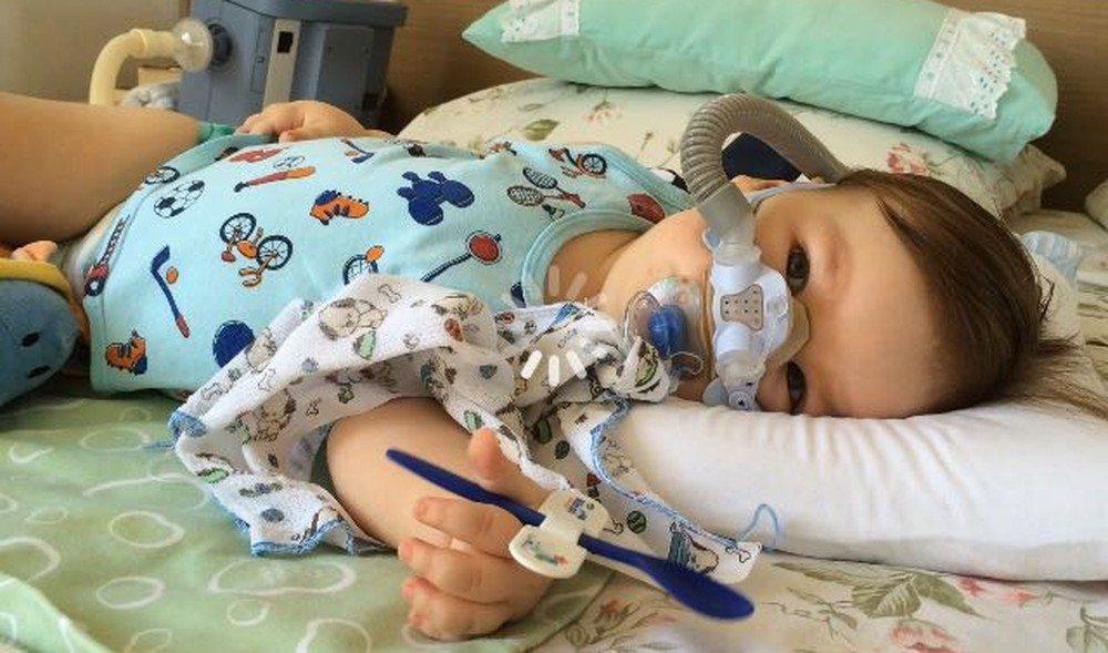 Bebê com doença degenerativa precisa de remédio que custa R$ 3 milhões