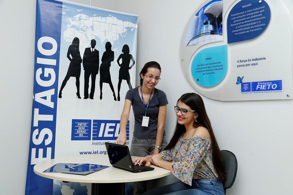 IEL oferece 12 vagas de estágio remunerado em 4 cidades do Tocantins