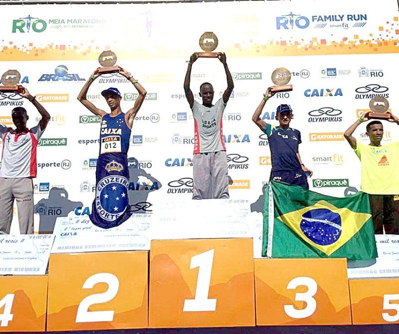 Tocantinense fica em 3º na Maratona do Rio