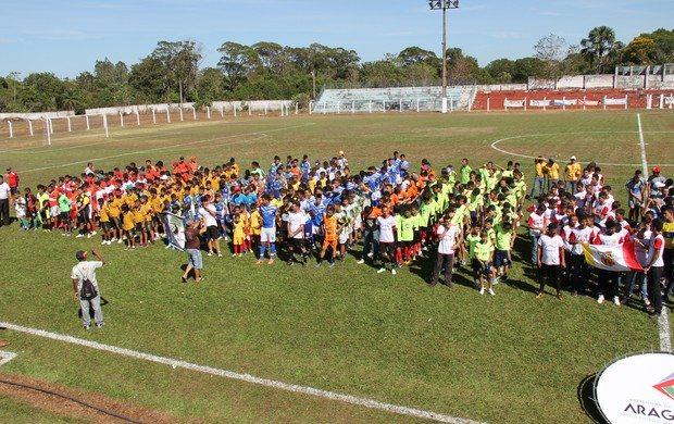 Copa Norte de Futebol de Base reunirá atletas de vários estados em Araguaína