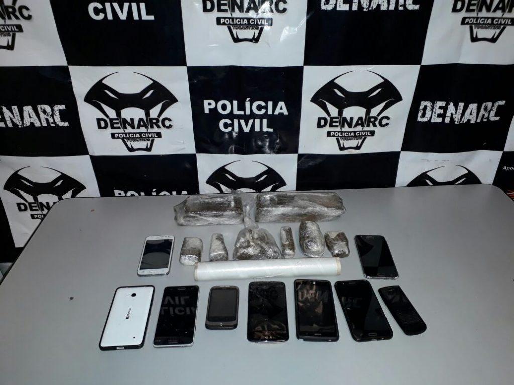 Polícia Civil fecha boca de fumo e prende três suspeitos por tráfico de drogas em Palmas