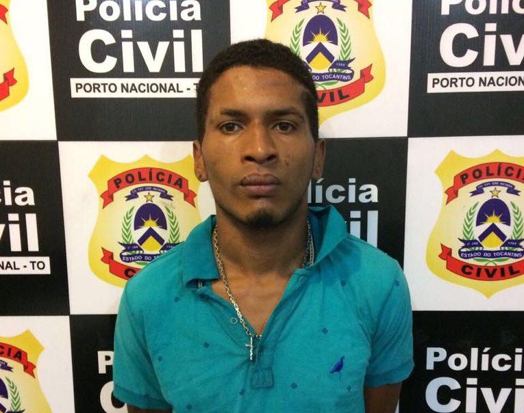Suspeito de cometer estupros e roubos em Porto Nacional é preso pela Polícia Civil