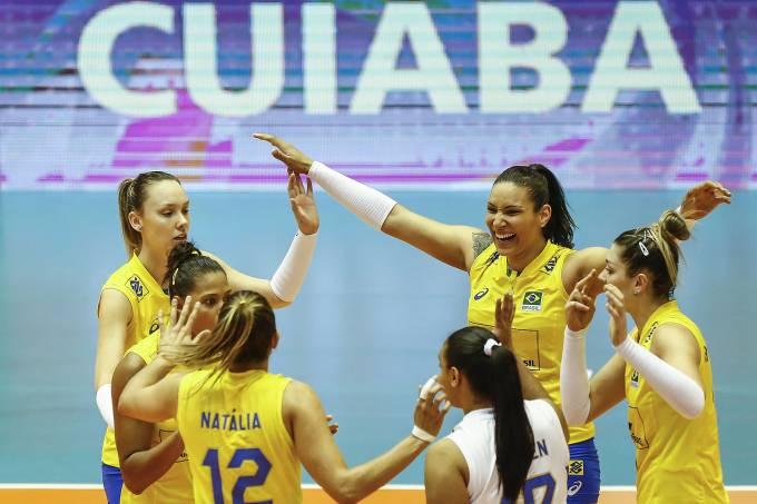 Brasil fica a uma vitória da classificação no Grand Prix