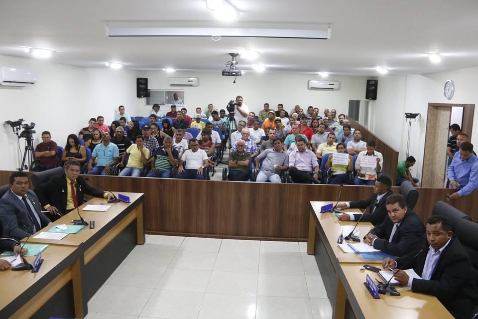 Câmara Municipal rejeita contas do ex-prefeito de Miracema do Tocantins