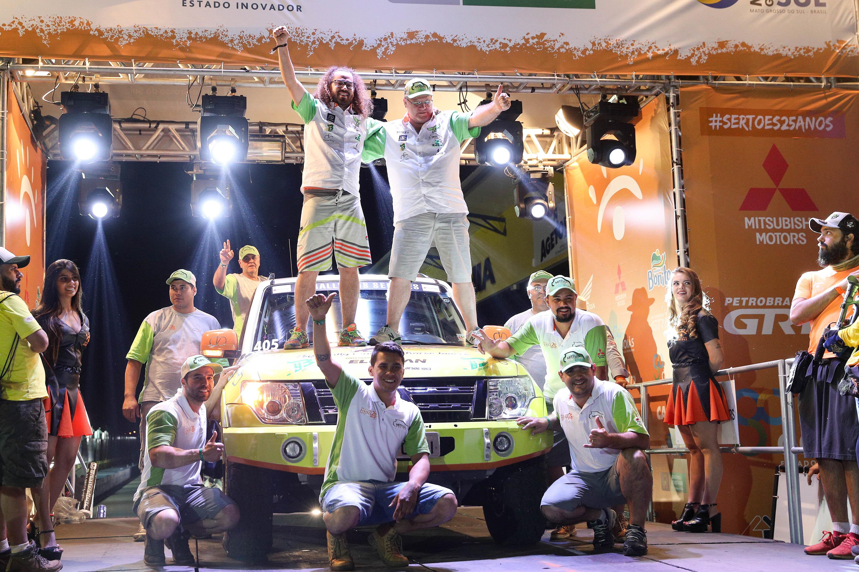 Rally dos Sertões: Otávio e Allan Enz completam em segundo o primeiro dia