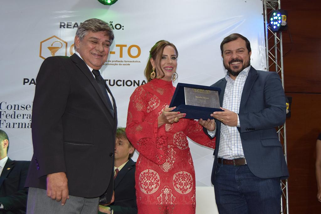 Araguaína recebe homenagem do Conselho de Farmácia do Tocantins