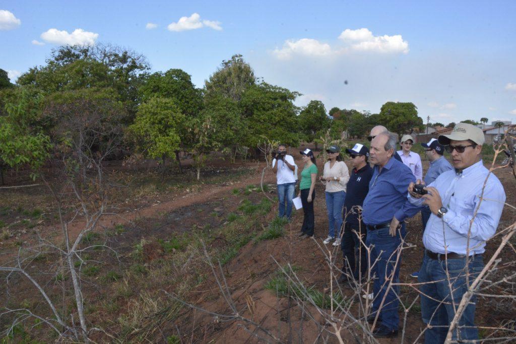 Equipe do Banco de Desenvolvimento da América Latina CAF avalia obras em Araguaína