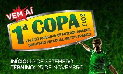 Com apoio do deputado Nilton Franco, vem aí a Copa Vale do Araguaia de Futebol Amador