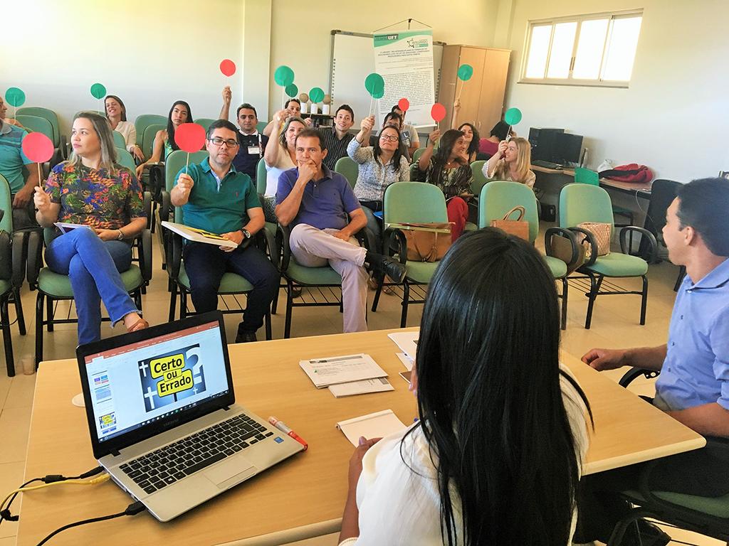 Colaboradores do HDT-UFT recebem capacitação em compras públicas