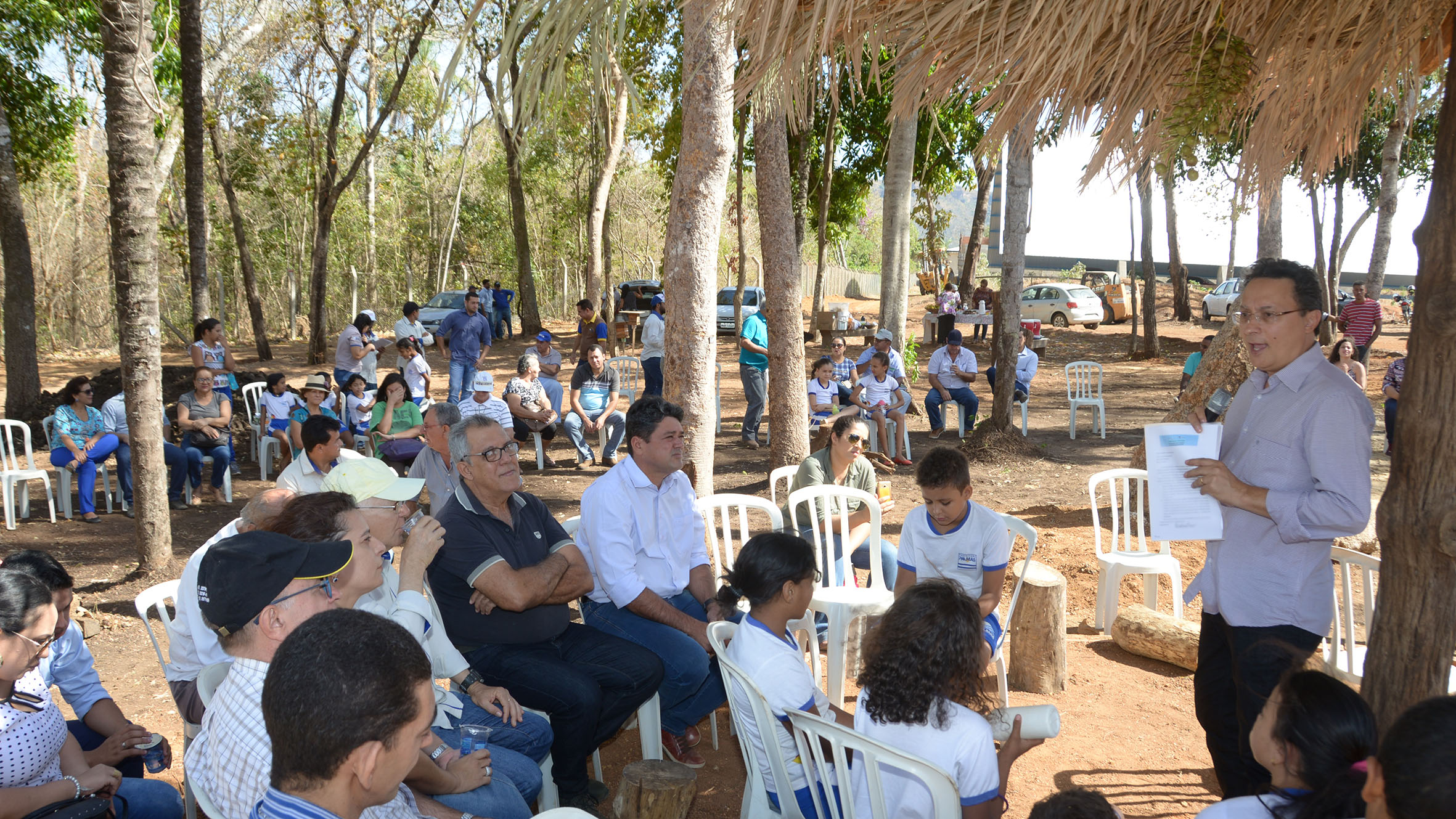 Produção agroecólogica, integrada e sustentável foi tema de aula de campo realizada na ETI Fidêncio Bogo