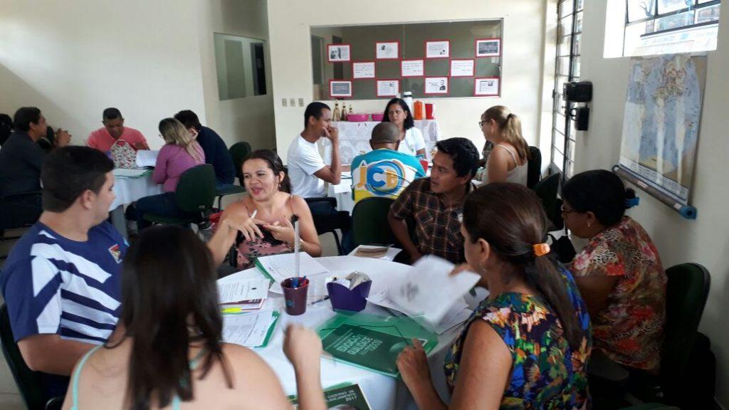 Regional de Tocantinópolis inicia ciclo de formação para educadores da região