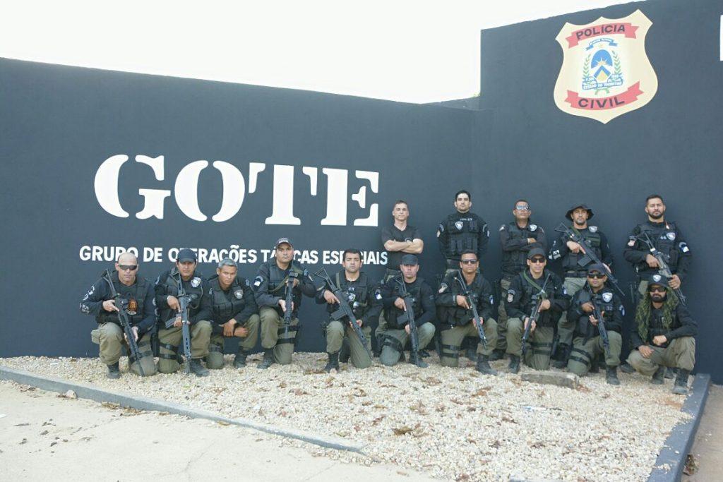 Policiais civis do GOTE e CIOPAER participam de treinamento tático operacional