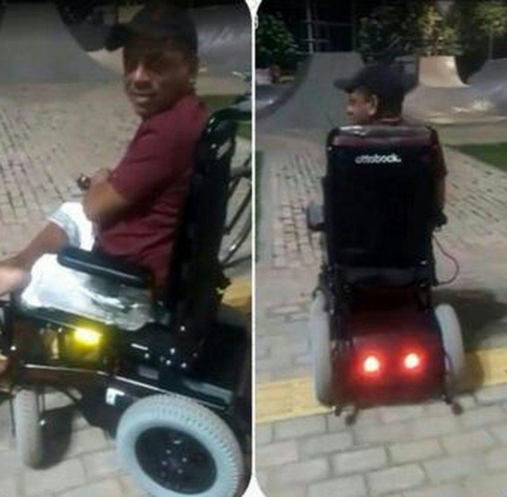 Deficiente físico é agredido e tem cadeira de rodas roubada durante assalto em RR
