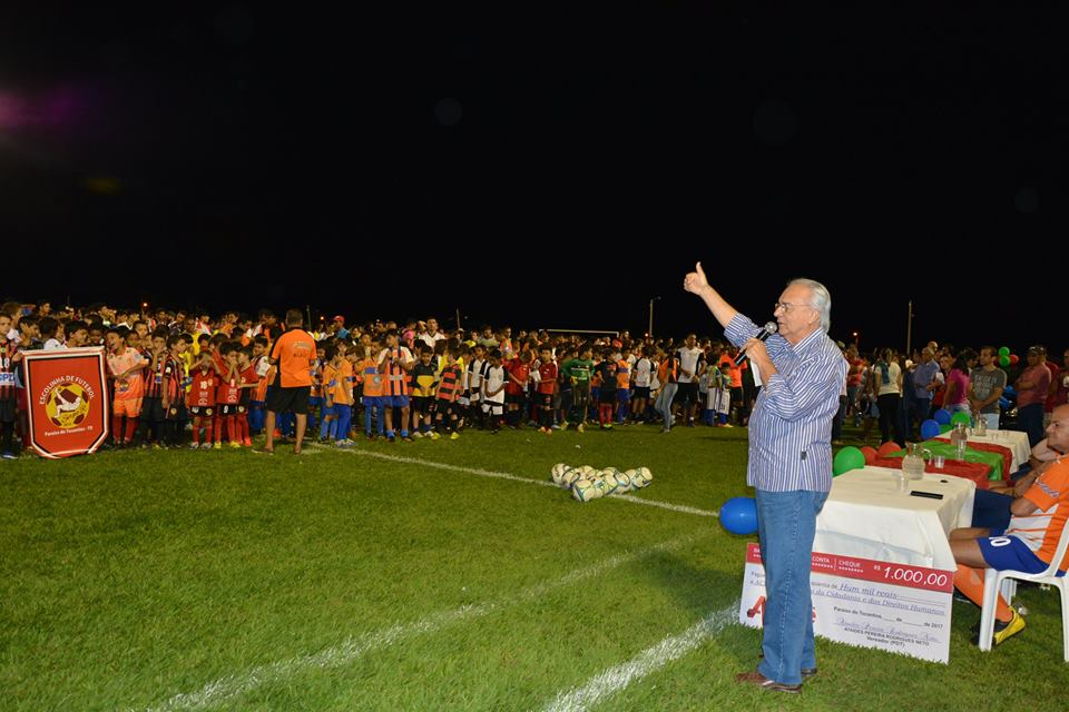 Grande público prestigia abertura da 1ª Taça Paraíso de Futebol Society