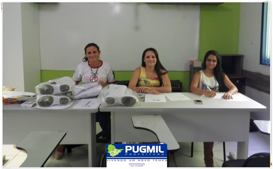 Auxiliar de Serviços Gerais da Saúde de Pugmil recebem Kits de Equipamentos de Proteção Individual (EPIs)