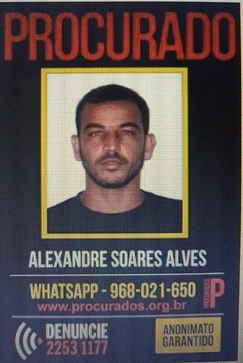 Autor de vários crimes, dentre eles a morte de policial no Rio de Janeiro é preso em Caseara TO