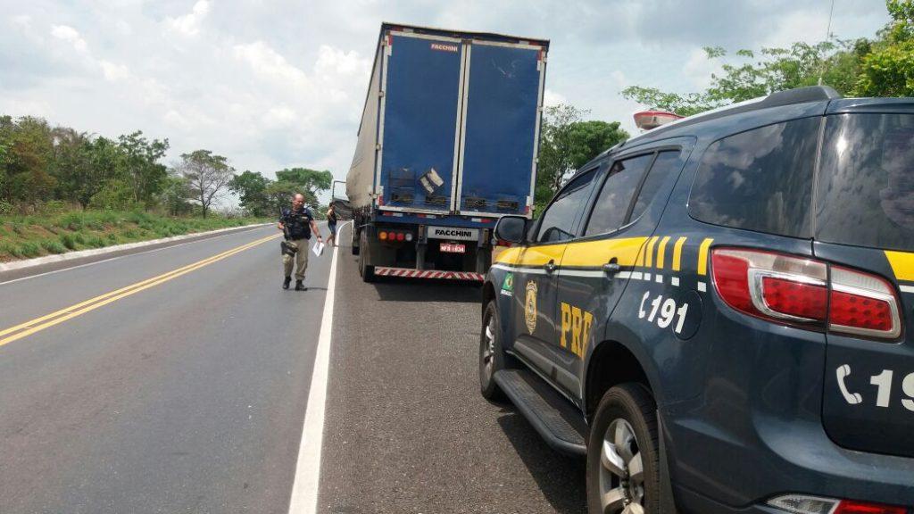 PRF prende homem por transporte irregular de agrotóxicos