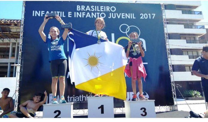 Triatletas do Tocantins conquistam ouro, prata e bronze no Campeonato Brasileiro de Caiobá no Paraná