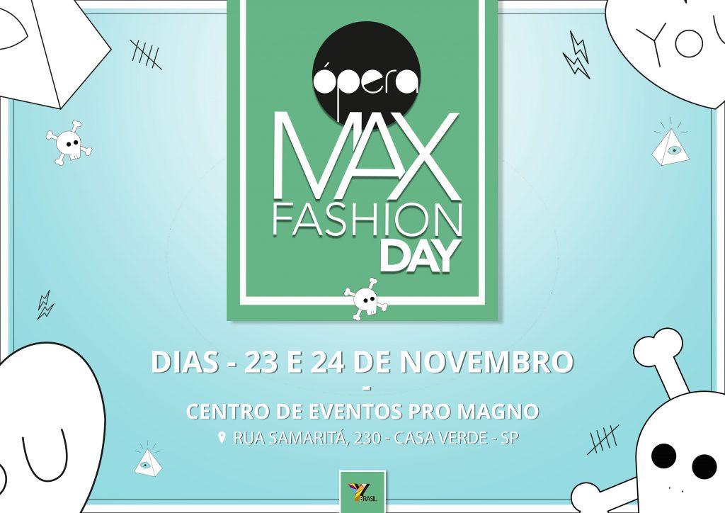 Max Fashion Day apresenta moda outono/inverno 2018 na 26ª Feira Ópera