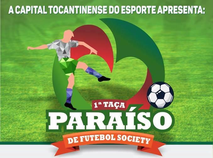 Abertura da Taça Paraíso de Futebol Society acontece neste 15 de Novembro, no Pereirão