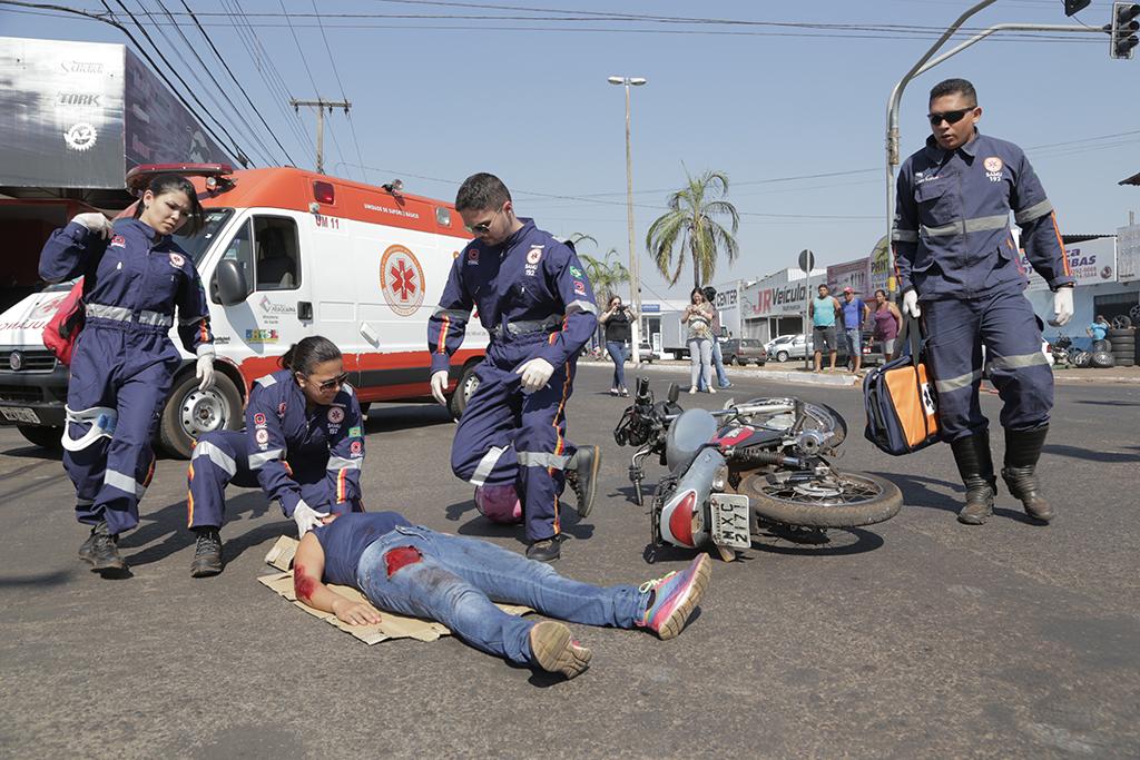 Redutores de velocidade são instalados em pontos de mais acidentes em Araguaína