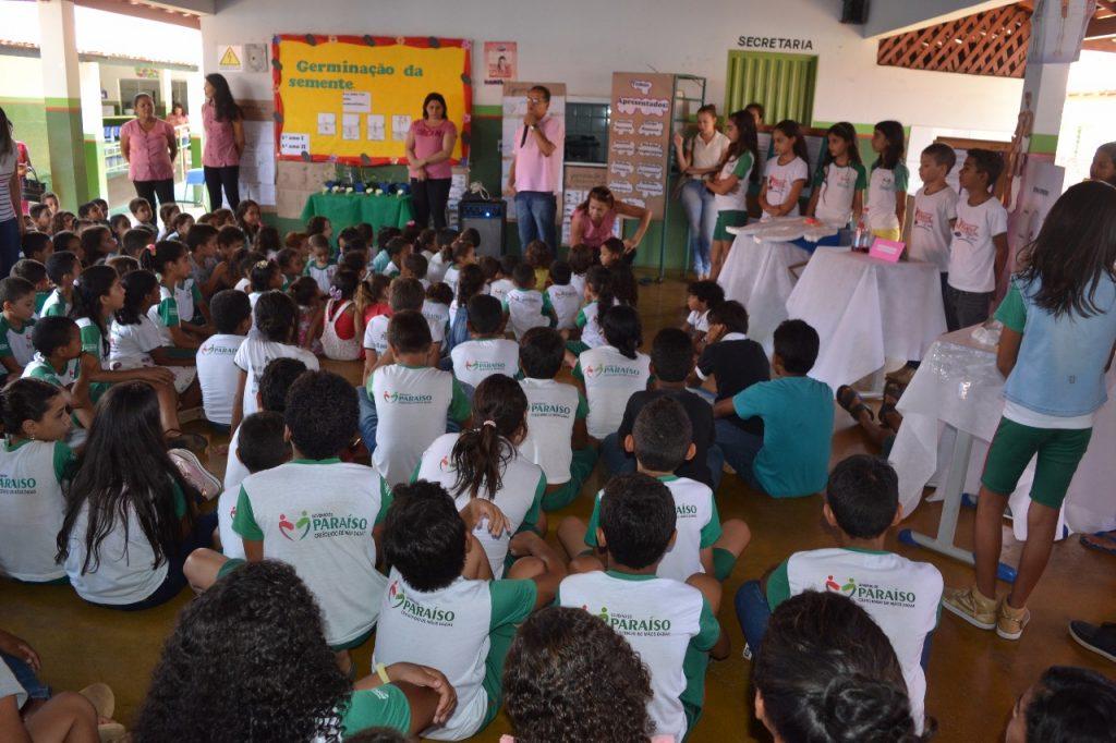 Escola Municipal Luzia Tavares realiza Feira de Ciências com alunos do 1º ao 5º Ano, em Paraíso