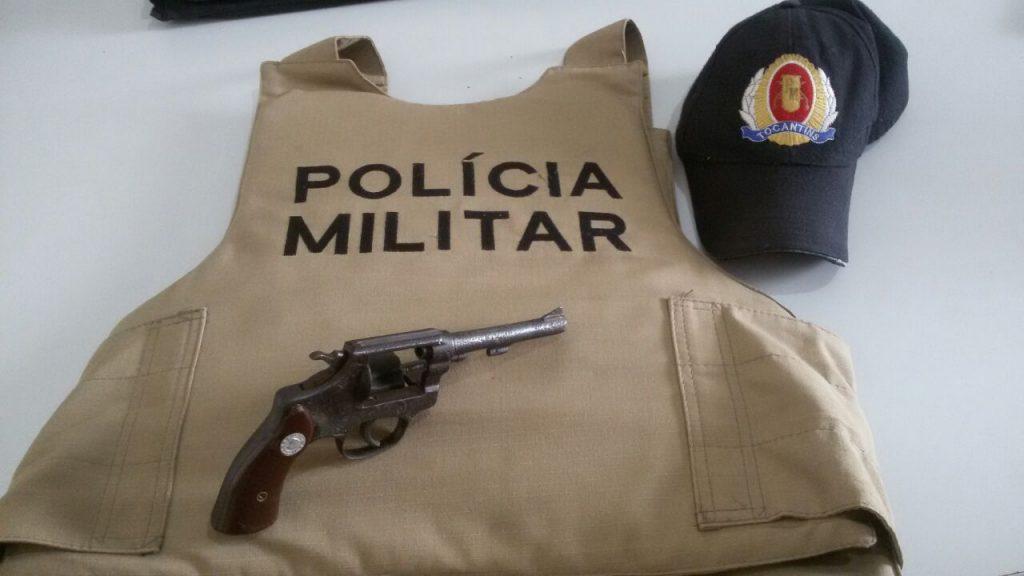 Menor portando arma é detido pela PM e encaminhado para Delegacia de Infância e Juventude de Paraíso