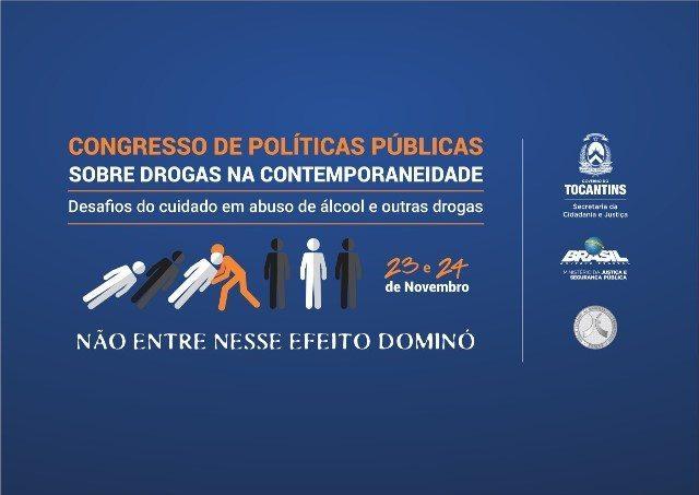 Congresso sobre drogas tem alta procura e já conta com mais de 460 inscritos