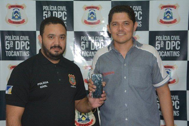 Polícia Civil recupera e devolve 23 aparelhos celulares roubados em Palmas