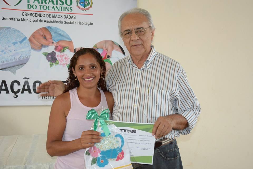 Certificação marca encerramento das atividades do Programa Geração de Renda em 2017