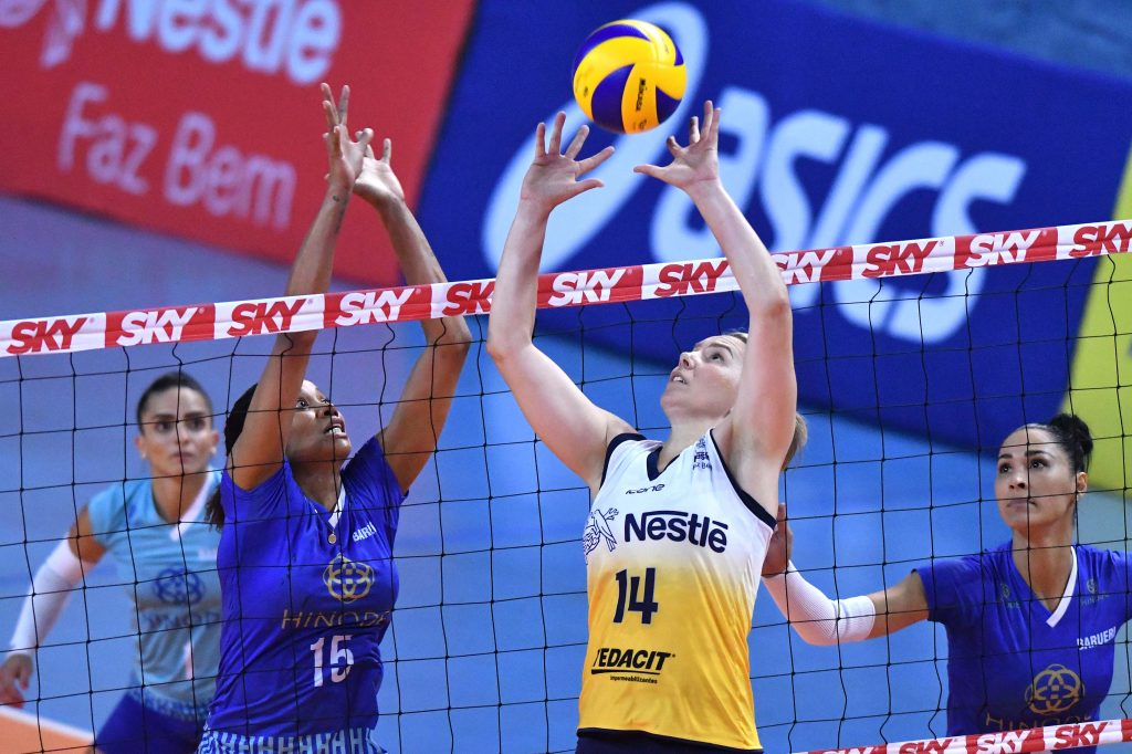 Vôlei Nestlé bate Hinode Barueri e está na semifinal da Copa do Brasil