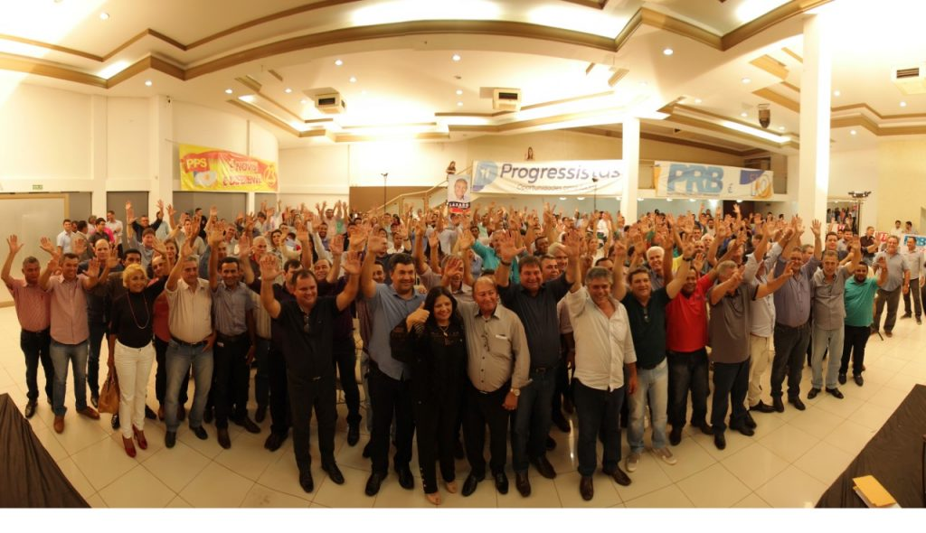 PRB, Progressistas e PPS lançam forte grupo político: Halum reforça pré-candidatura ao Senado