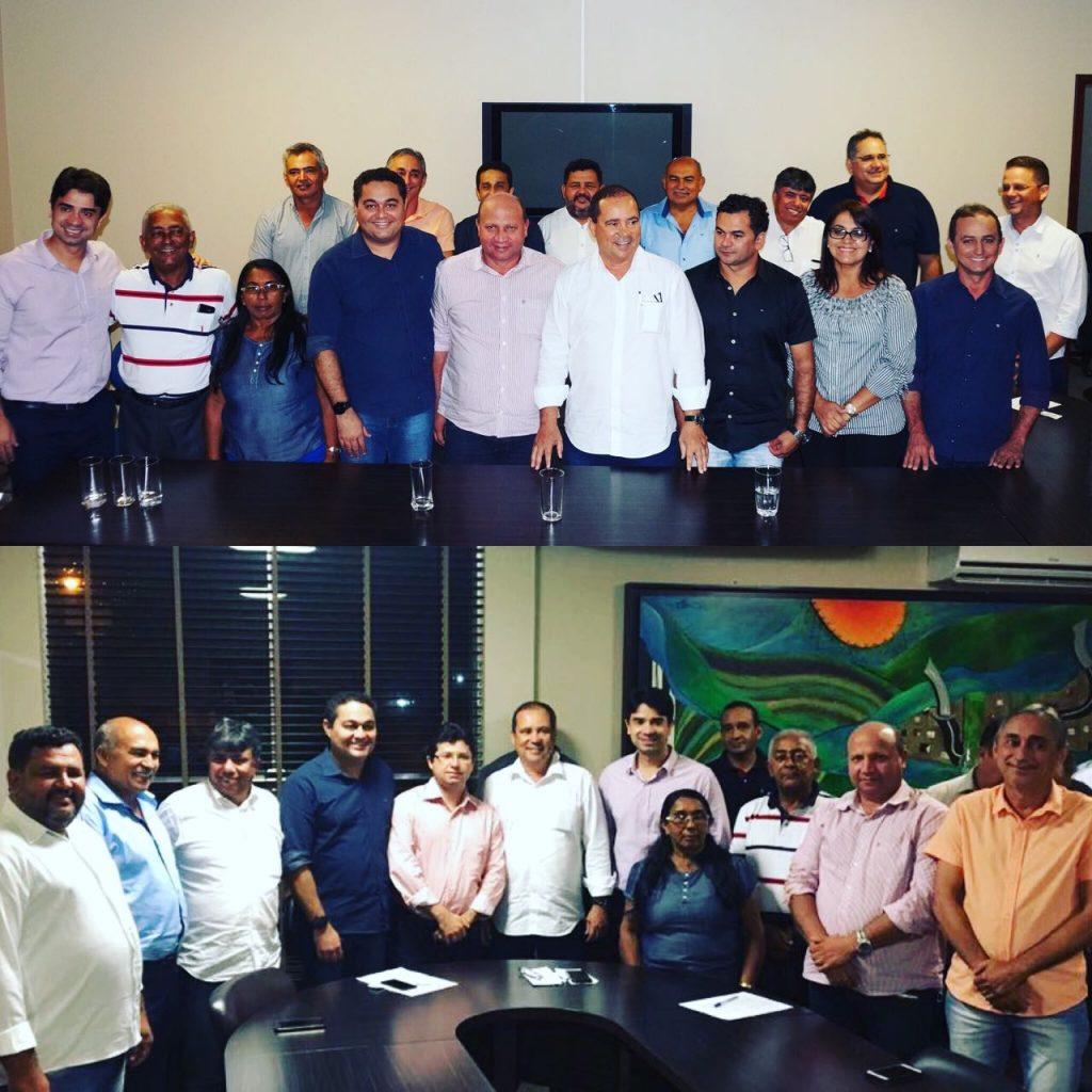 Senador Vicentinho Alves é recepcionado por lideranças da Região Centro – Norte do Tocantins