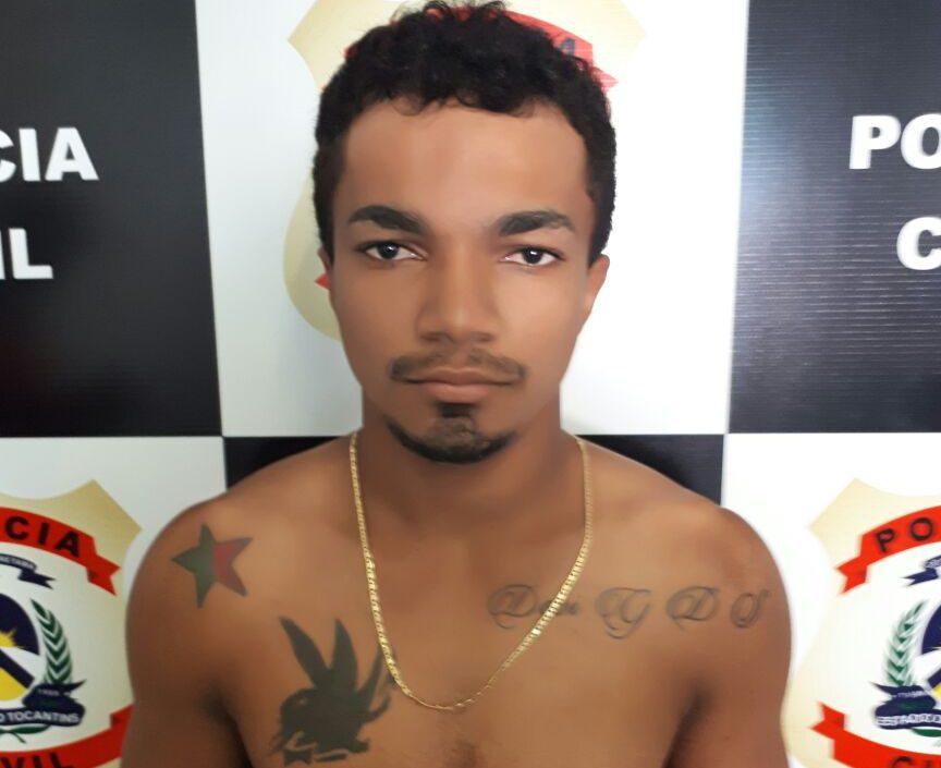 Polícia Civil prende suspeito de assaltar pedestres em Miracema do Tocantins