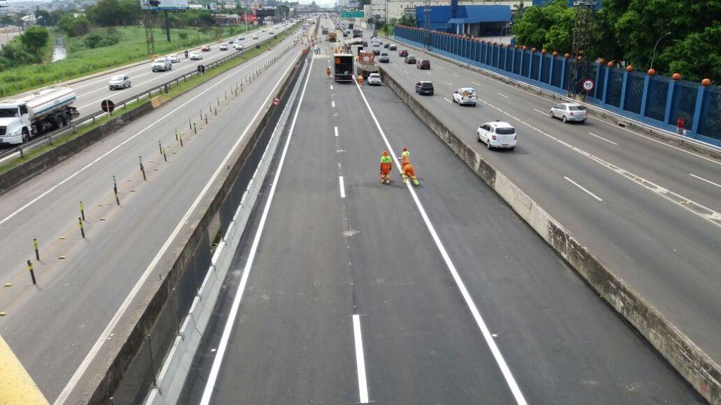 Com cinco meses de antecedência, CCR NovaDutra libera o tráfego na nova ponte sobre o córrego Pavuna
