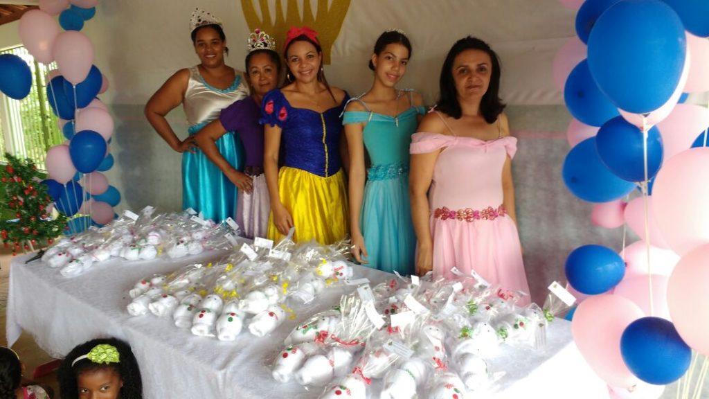 Alunos da Educação Infantil participam de confraternização na Escola Mun. José Ribeiro Torres, em Paraíso