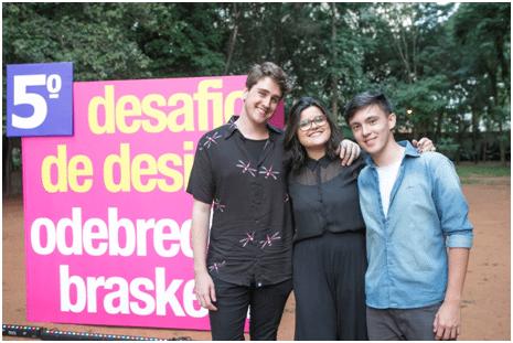 Alunos de Design do Instituo Mauá de Tecnologia vencem o 5.º Desafio de Design Odebrecht Braskem