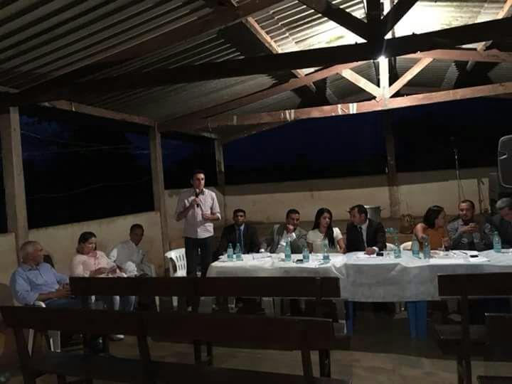 Deputado Nilton Franco participa de encontro com prefeito Nelsinho e vereadores de Lagoa da Confusão