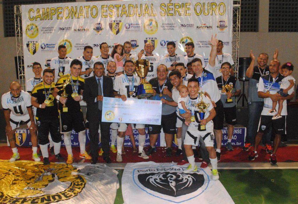 Porto é campeão invicto da Série Ouro 2017