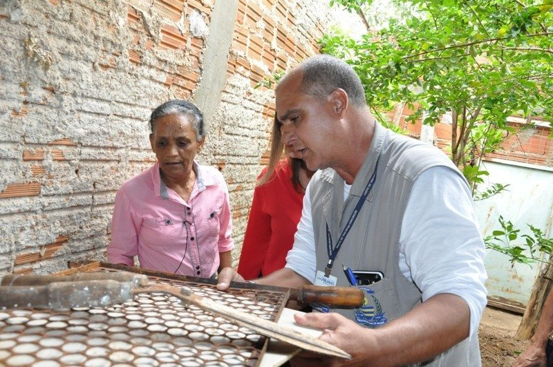 Quadra 407 norte na capital foi vistoriada no dia D de combate ao Aedes Aegypt