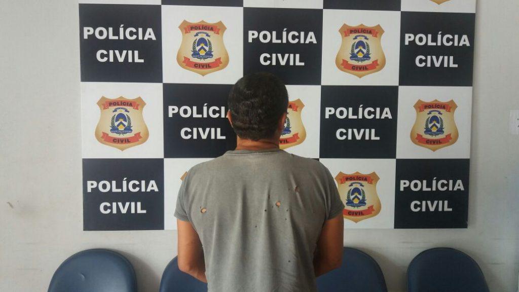 Suspeito de praticar estupro de vulnerável é preso pela Polícia Civil em Araguatins