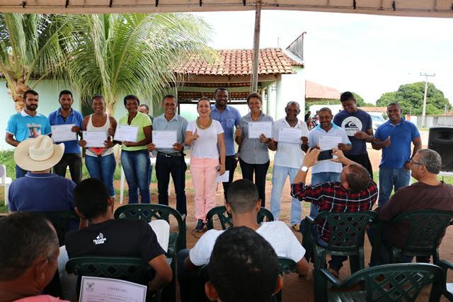 SENAR certifica alunos no Município de Paranã neste final de semana