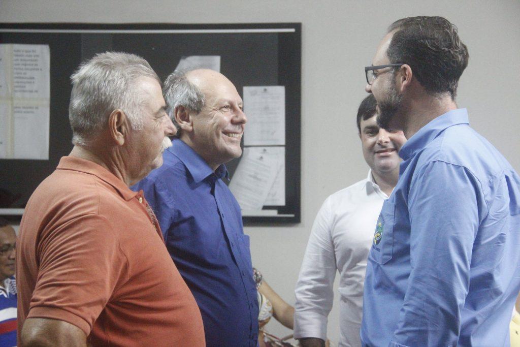 Lideranças políticas de Cariri indicam apoio político a Ronaldo Dimas