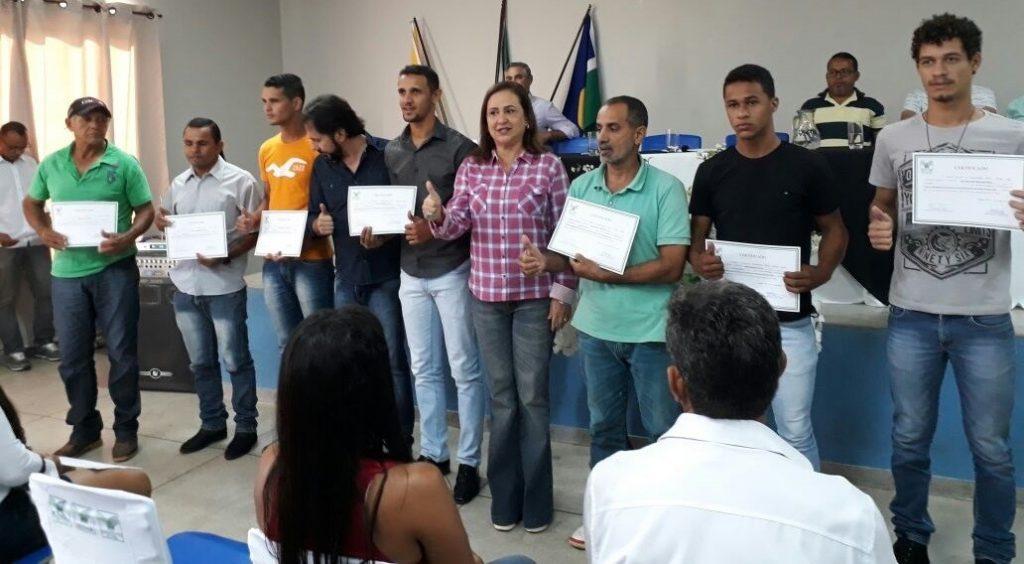 Produtores Rurais do Município de Jaú do Tocantins recebem certificação do SENAR