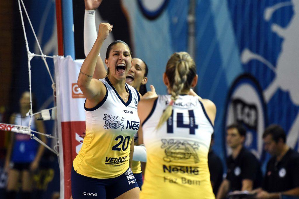 Vôlei Nestlé decide vaga na final da Copa Brasil em clássico contra o Sesc/RJ