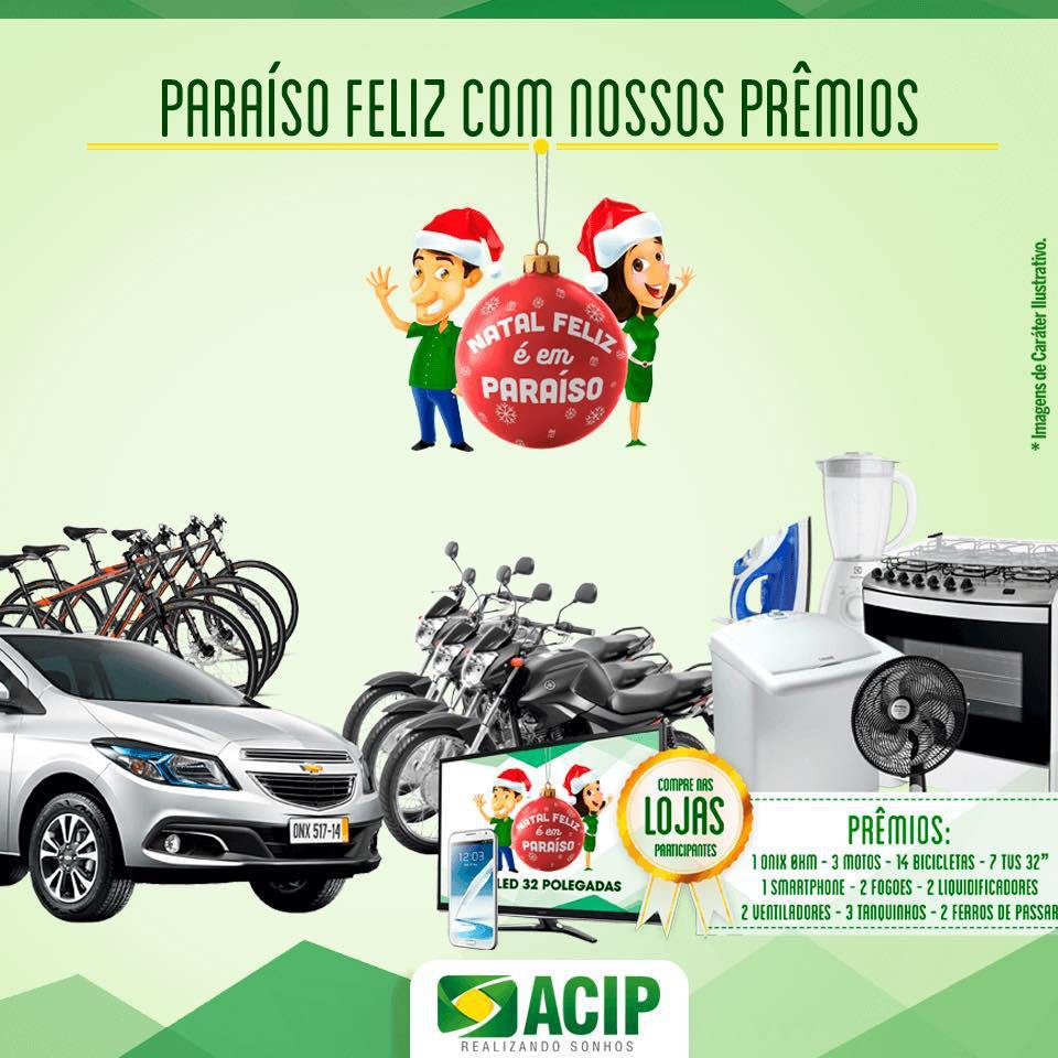 ACIP e Siccob Credipar anunciam carreata em Paraíso TO