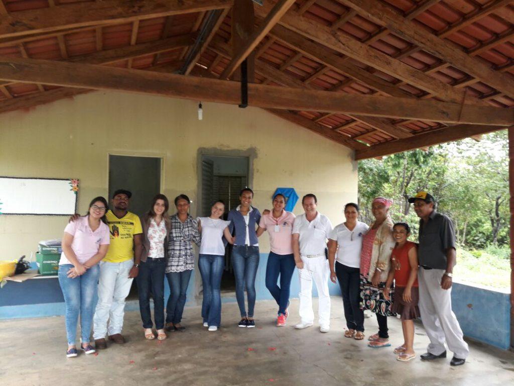 Equipe da Secretaria de Saúde de Chapada de Areia realiza atendimento na zona rural