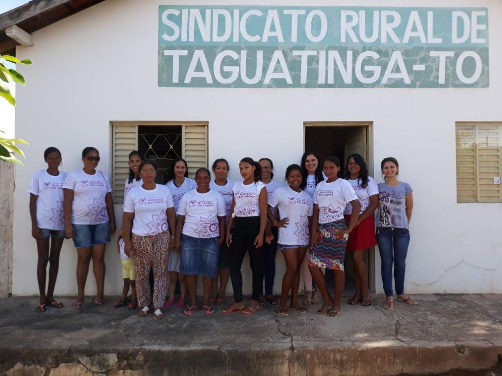 SENAR realiza Curso Mulheres em Campo no município de Taguatinga