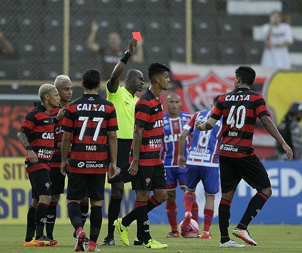 Procurador do TJD-BA pede exclusão e rebaixamento do Vitória no Campeonato Baiano