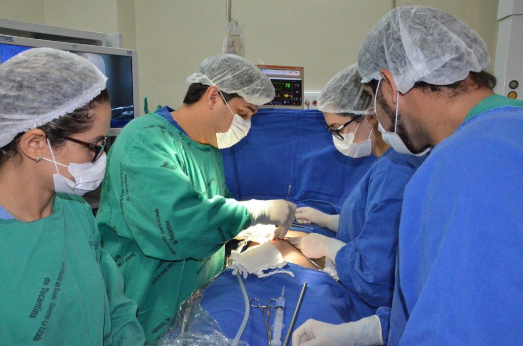 Mutirão reduz fila de espera por cirurgias no aparelho digestivo no HGP
